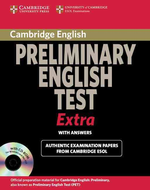 Cambridge Exams Extra PET with Answers